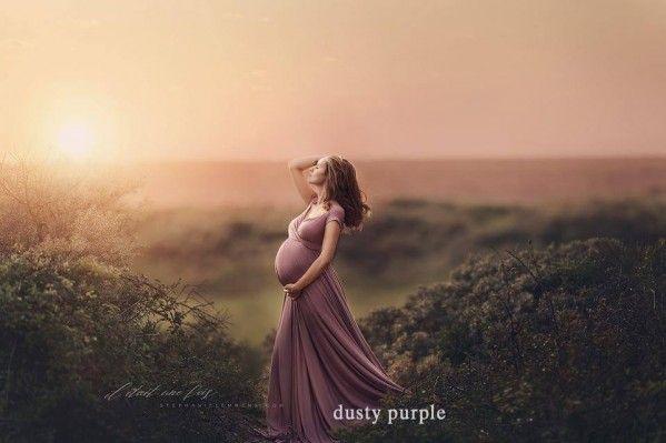 Allium Maternity Dress