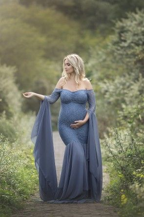 Hellebore Deluxe Maternity Dress