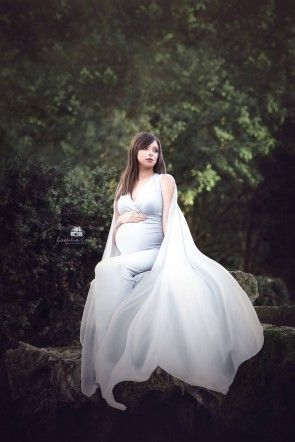 Atrofusca Maternity Dress