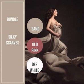 Bestseller Silky l Bundle Sand, Old pink, Off White