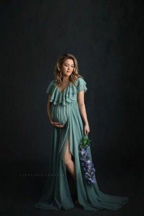 Limonium Maternity Gown