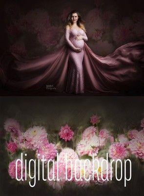 Digital Backdrop Lady Pink Mii-Estilo