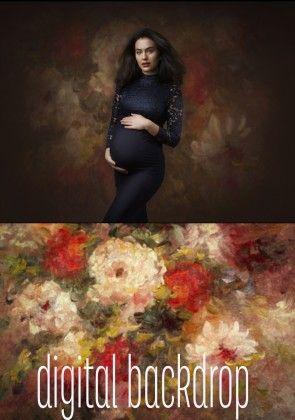 Digital Backdrop Scarlett by Danielle Hagens