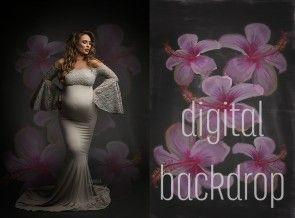 Digital Backdrop Lovely Mii-Estilo