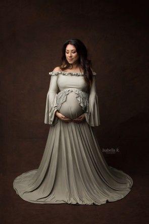Ongebruikt Maternity - Fine-Art - Product line - Zwangerschapsjurken Fotoshoot SL-56